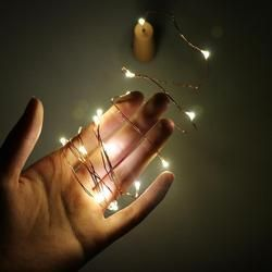 2M LED Garland Copper Wire Corker String Fairy Lights for Glass Craft Bottle Christmas/Valentines Wedding Decoration