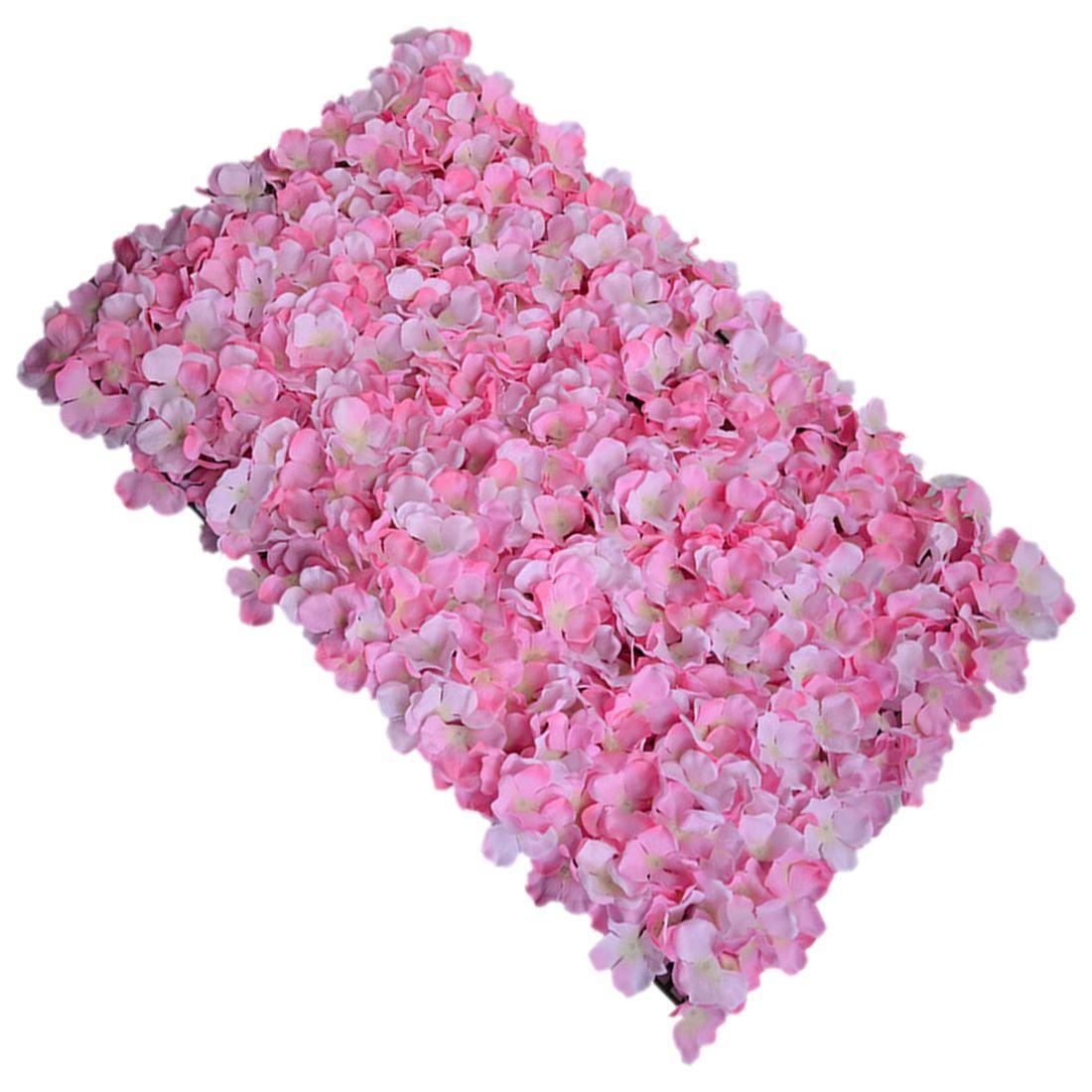 Noble tapis type hortensia bricolage mariage réglage mur décoration route led fleur T scène décoration Photo fond