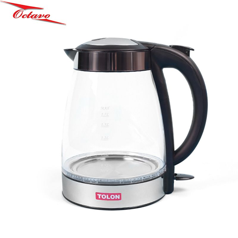 High Temperature Glass Electric Kettle Teapot TO-499