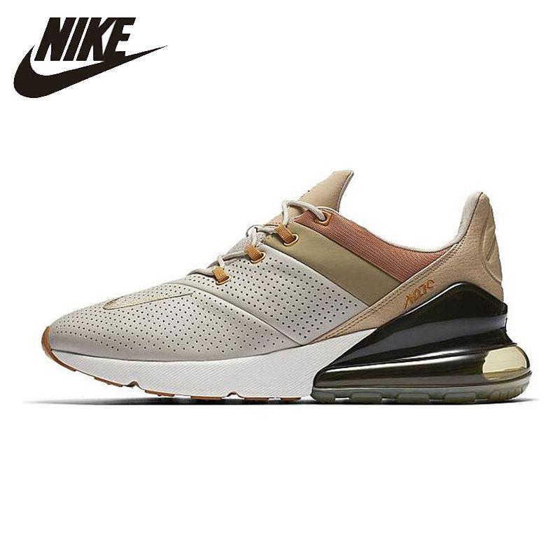 Nike Original Neue Ankunft Air Max 270 Premium Männer Laufende Schuhe der Nicht-slip Atmungsaktive Outdoor Turnschuhe # AO8283-200