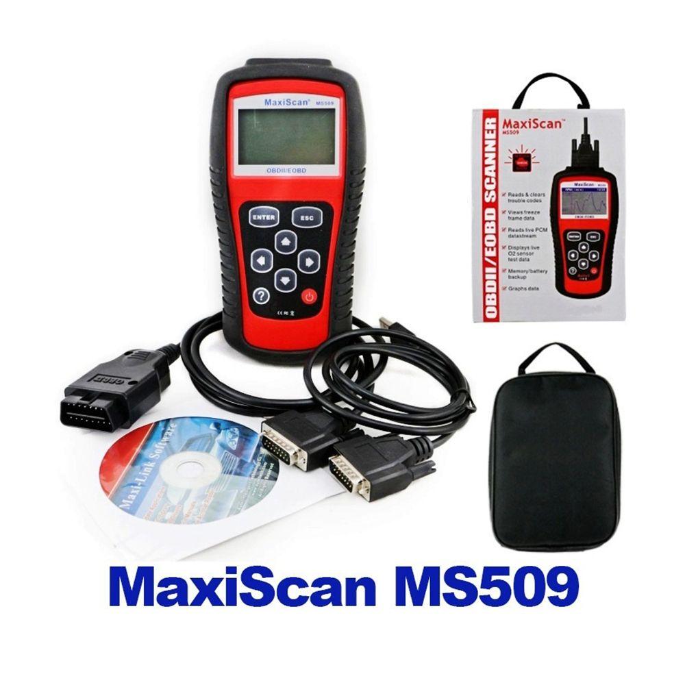 Bordwerkzeug Auto Codeleser Tester Autel MS509 OBDII Auto OBD2 Scanner Maxiscan MS509 Automobildiagnosescanner