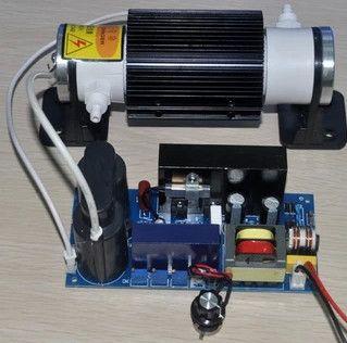 KOSTENLOSER VERSAND Keramik rohr 5 gr/std einstellbar ozon generator Ozon maschine armaturen einstellbare hohe spannung netzteil