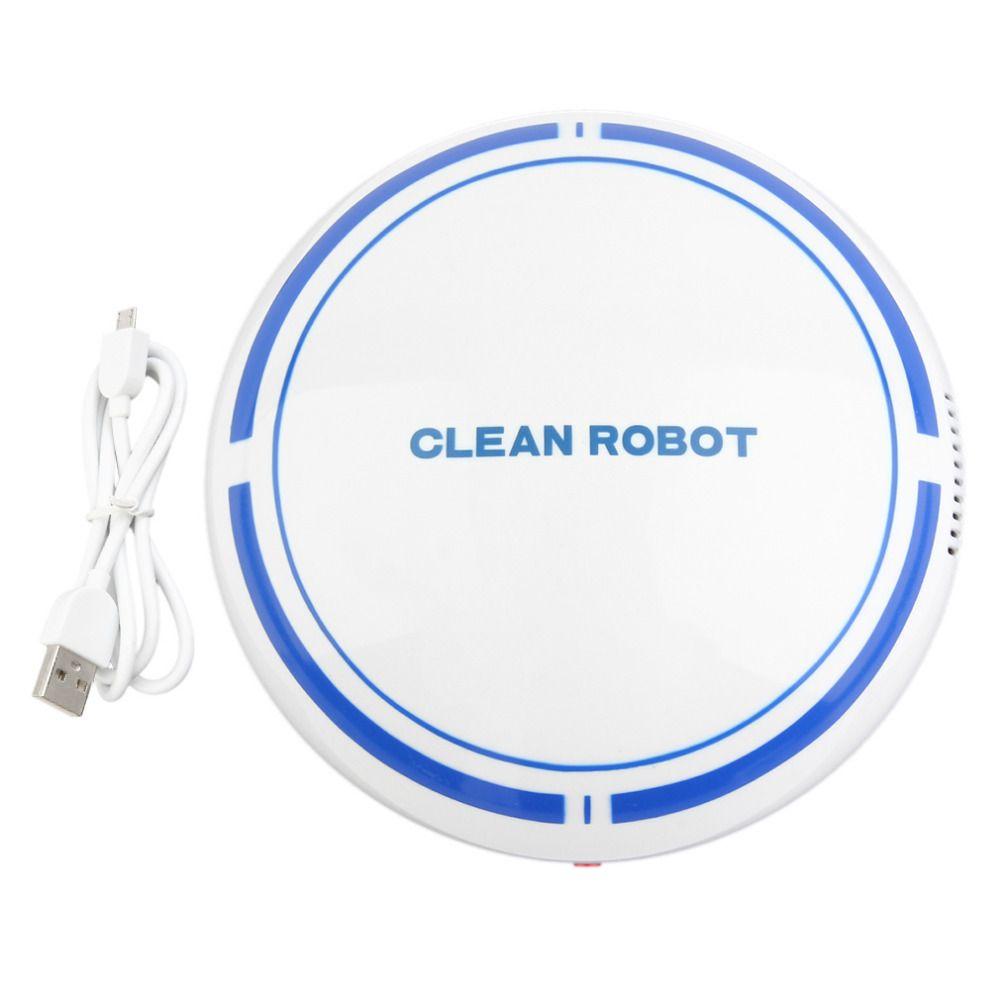 Hot USB Rechargeable Vacuum Smart Sweeping Robot Slim Sweep Suction Mini Automatic Sweeping MachineBroom Household SweeperRobots