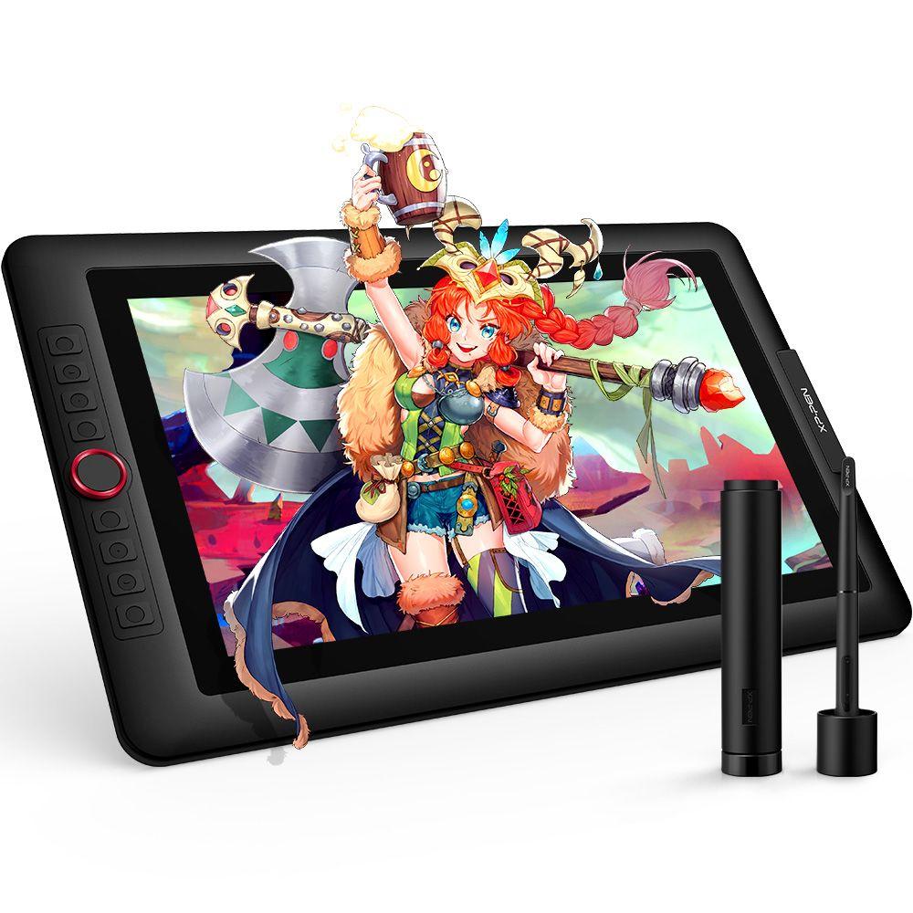 XP-Stift Artist15.6 Pro Grafik tablet Grafik monitor Digitale tablet Red Zifferblatt mit 60 grad von tilt funktion und 8 express tasten