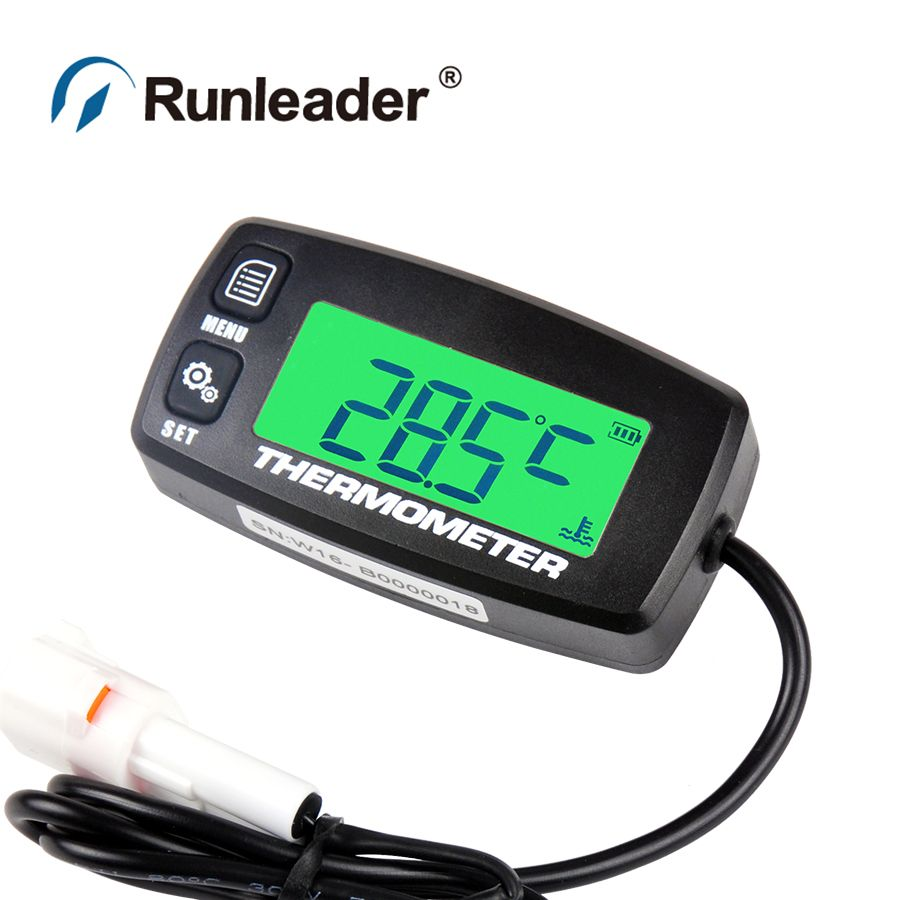Runleader RL-TS001 PT100 -20 +300 TEMP sensor thermometer temperature meter for motorcycle boat marine trimmer chain saws ATV