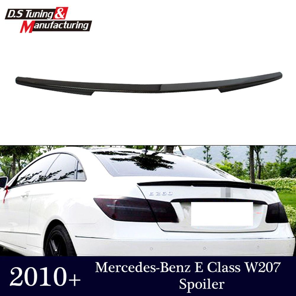 E klasse w207 c207 carbon fiber hinten stoßstange stamm spoiler flügel für mercedes 2010-2016 2-tür coupe cabrio e250 e200