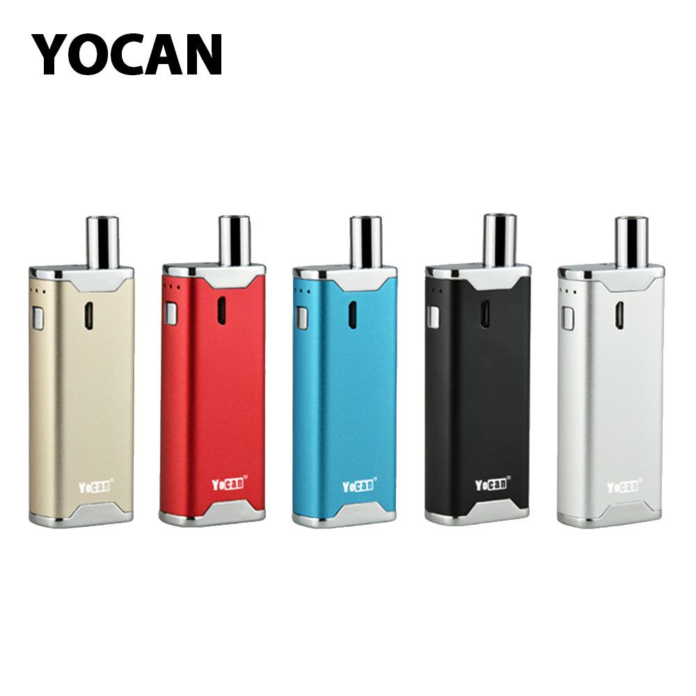 Original Yocan Hive 2.0 VV AIO Kit W/ Built-in 650mAh Battery Discreet AIO device & Voltage adjustable E-cig Vape Hive 2.0 Kit