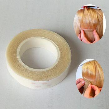 1 pcs HAUTE QUALITÉ 1 cm * 3 m Double Face Ruban Adhésif pour La Peau Trame Extensions de Cheveux-super adhensive bande