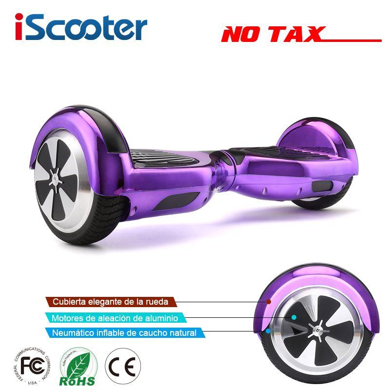 IScooter Hoverboards Selbstabgleich Elektroroller Skateboard Elektrische Hoverboard 6,5 zoll Zwei Rädern Schwebebrett