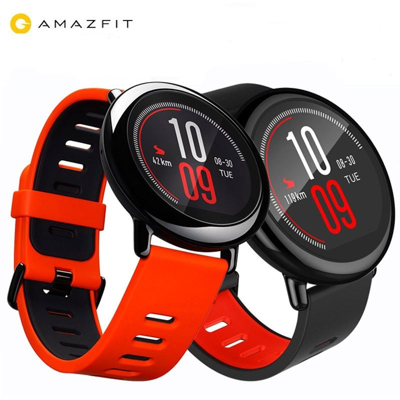 [GLOBAL VERSION]Original Xiaomi Huami Watch AMAZFIT Pace BLT 4GB GPS Sports Smart Watch Zirconia Ceramics Heart Rate Monitor
