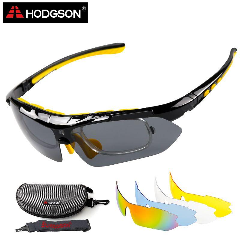 HODGSON очки велосипедные очки для велосипеда Солнцезащитные очки для женщин Желтый 5 Оптические стёкла 1 головка ремень оптических Рамка спор...