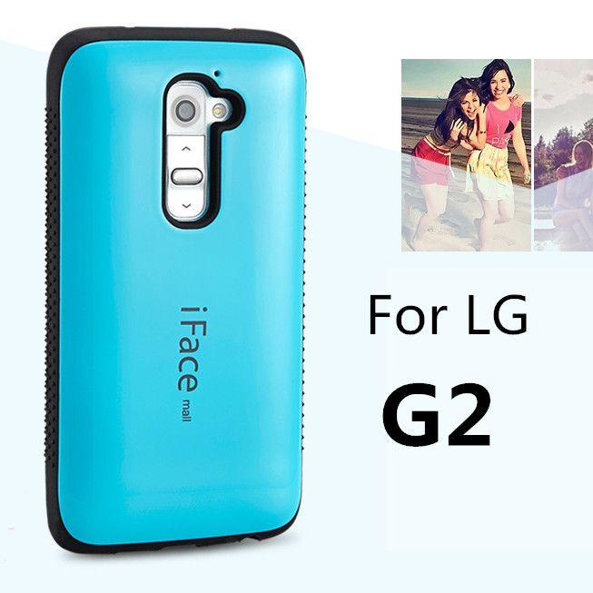 Dropproof cas de téléphone Pour LG G2 D801 D802 cas Antichoc Couverture Pour LG G2 cas Anti-Frapper Shell bonbons couleur