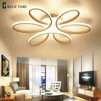 Vestíbulo moderno Led Luz de techo de montaje en superficie LED lámpara de techo para sala de estar dormitorio LED comedor Lustres de iluminación