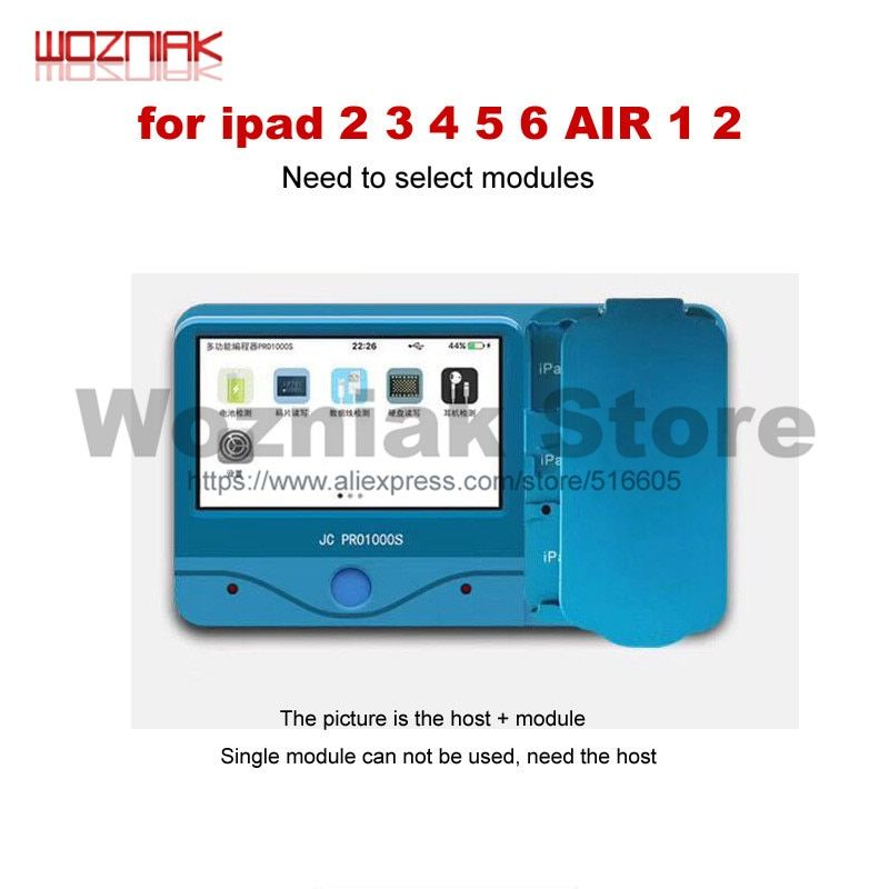 JC Pro1000S Multi-Functional NAND Chip Programmer For iCloud Repair Non-Removal Read Write Adapter for iPad 2 3 4 5 6 AIR 1 2