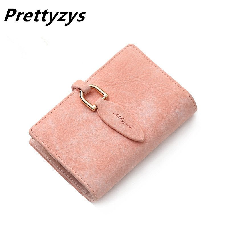 Prettyzys 20 Bits New Women Credit Card Holder PU Leather Leaves Hasp Bank Card Bag Fashion Mini Card & ID Holders Card Keepers