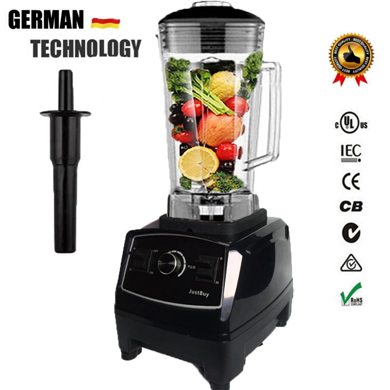 EU/US/AU/UK Plug 3HP 2200W G5200 Heavy Duty Commercial Grade Blender Mixer Juicer  Food Processor Ice Smoothie Bar Fruit