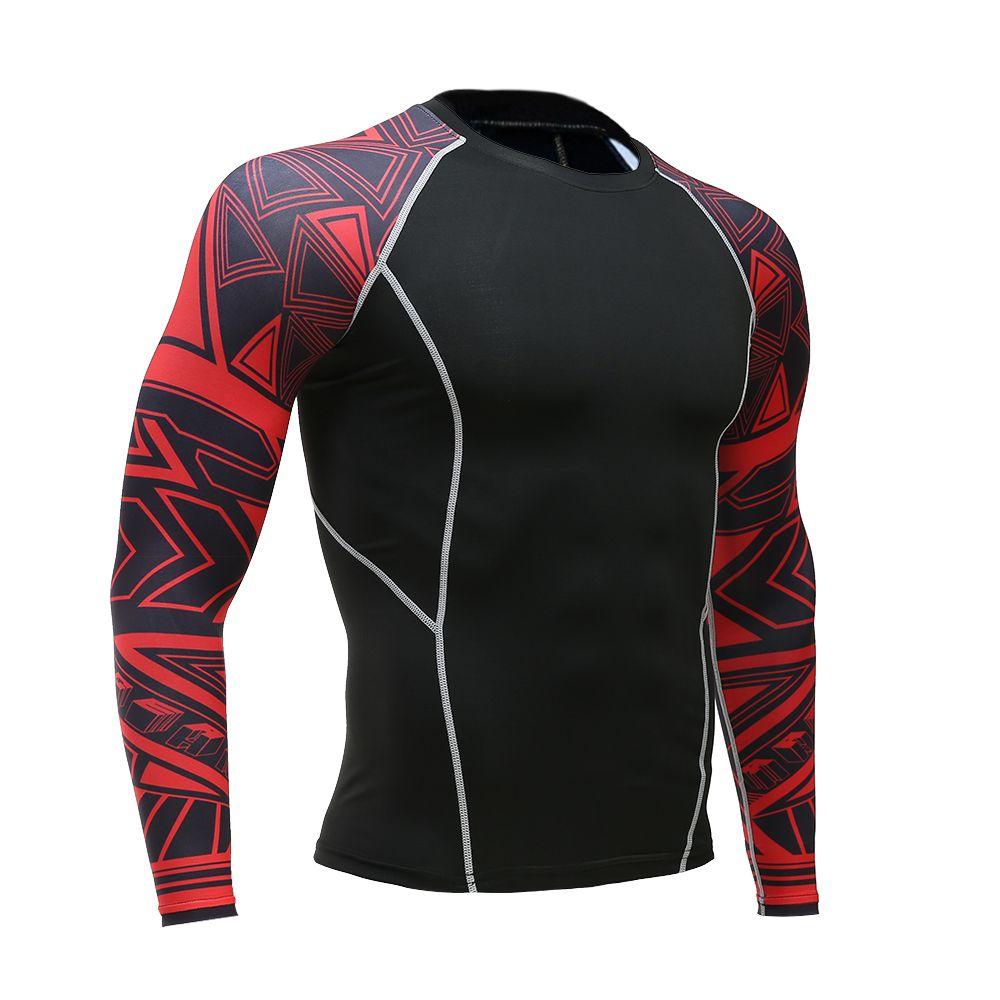 2017 neue Modemarke Für Männer Compression Langarm-shirt T Shirts Beitreten Cosplay Jersey camisetas mujer verano T-shirt