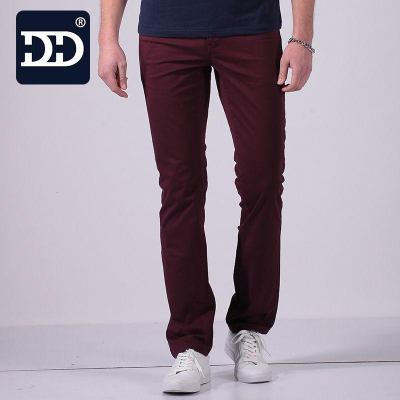 2017 New Type Slim Fit  Pants Men Super Comfortable  Slim Pants Pockets Men Trousers Men Famous brand-clothing Men Fashion