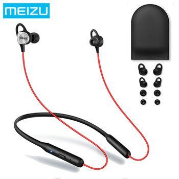 Оригинал Meizu ep52 Беспроводной Bluetooth 4.1 спортивные наушники стерео гарнитура Водонепроницаемый IPX5 с микрофоном поддержку apt-X 8 часов play
