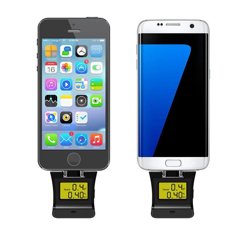 Analyseur Mobile de LED d'appareil de contrôle d'haleine d'alcootest numérique d'alcool pour le professionnel d'appareil de contrôle d'alcool d'android/IOS
