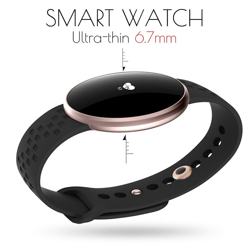 relogio feminino Women Fashion Smart Watch Men Heart Rate Monitor Pedometer Fitness Tracker Ultra-thin Wristband For Android IOS