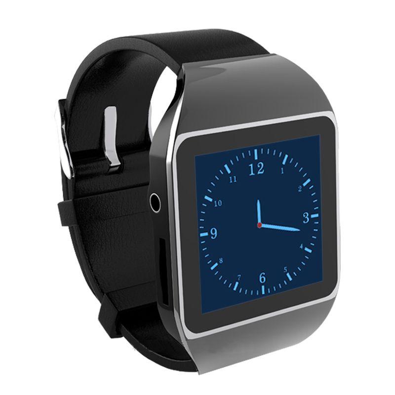 8 GB Touchscreen Smart Uhren Sport Mp3-player Unterstützung FM E-buch Bluetooth Schrittzähler Runner Sporttyp Mp3-player
