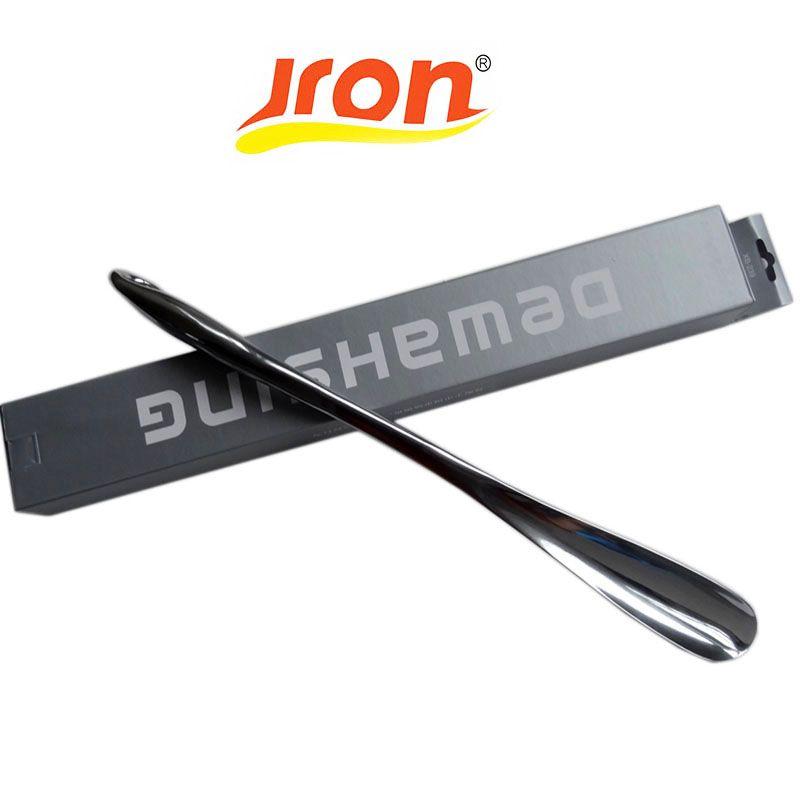 Jron Профессиональный 52 см прочный Нержавеющаясталь легко обрабатывать металла рожок для обуви ложка рожок для обуви shoe атлет инструмент