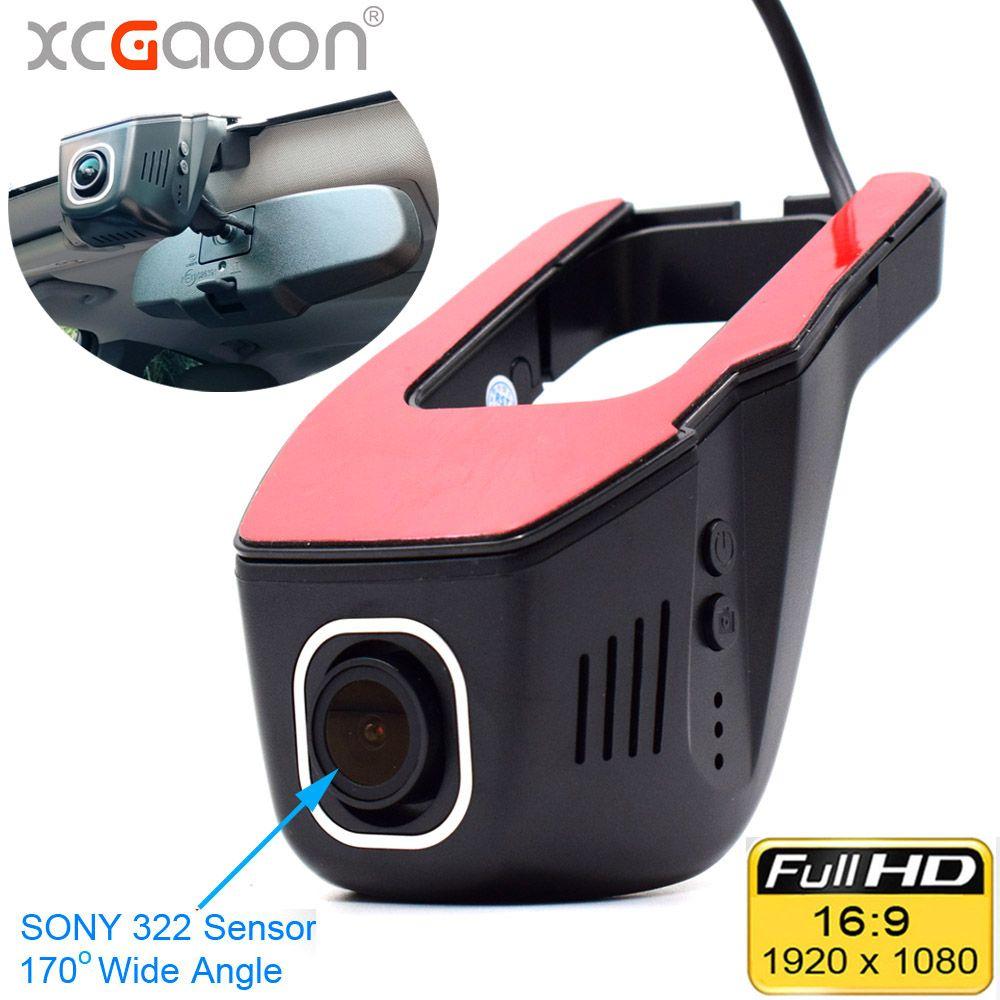 XCGaoon Wifi voiture enregistreur DVR enregistreur vidéo numérique caméscope caméra de bord 1080P Version nocturne Novatek 96655, la came peut pivoter