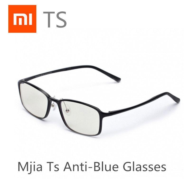 En Stock, dès que possible Xiao mi mi jia TS lunettes en verre Anti-bleu verre Anti-rayons bleus UV résistant à la Fatigue protecteur des yeux mi Home TS verre