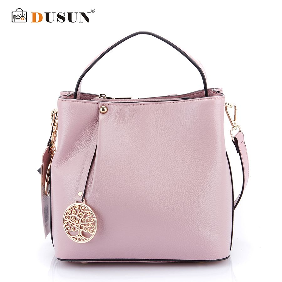 DUSUN Fashion Brands Women Handbags Genuine Leather Messenger Bag Woman Leather Handbags Women Shoulder Bag Casual Tote 2016 New