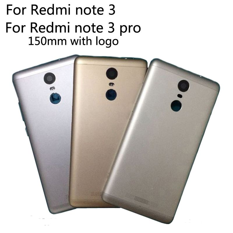 150mm Neue Volle Batterie Tür Rückseitige Cover Gehäuse Fall für Xiaomi Redmi Hinweis 3 Pro anmerkung3 Mit Power Lautstärketasten