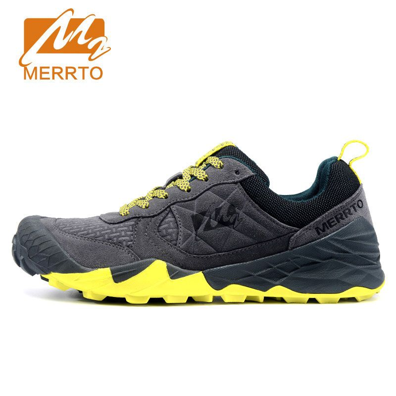 MERRTO Man Hiking Shoes Men Suede Athletic Trekking Boots Sports Climbing Shoe Outdoor Walking Sneakers zapatos outdoor hombre