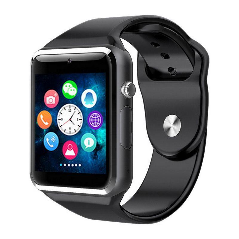 GETIHU A1 Smart Montre Smartwatch Bluetooth Numérique Poignet Sport Montre SIM Carte Téléphone Avec Caméra Pour Apple iPhone Android Samsung