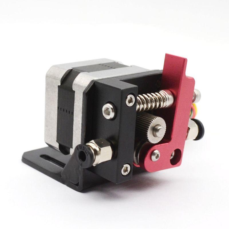 3D Printer Reprap Makerbot8 MK8 Aluminum Bowden Left/Right hand remote Extruder with stepper Motor 1.75mm Fliament