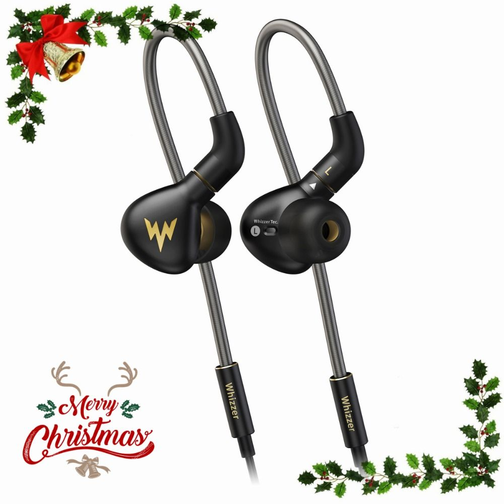 Whizzer A15 Pro Dynamic Earphone HiFi Hi-Res Pure Clear Balanced Sound Metal In Ear Earbuds with MMCX Cable Official Store