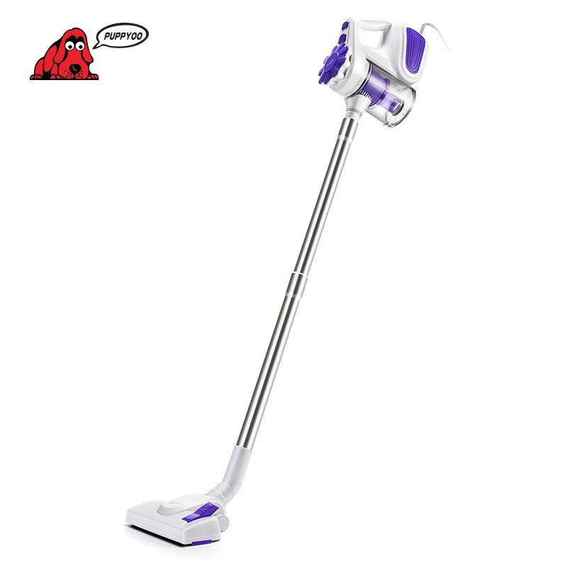 PUPPYOO Low Noise Household Portable Vacuum Cleaner Handheld Dust <font><b>Collector</b></font> and Aspirator WP526