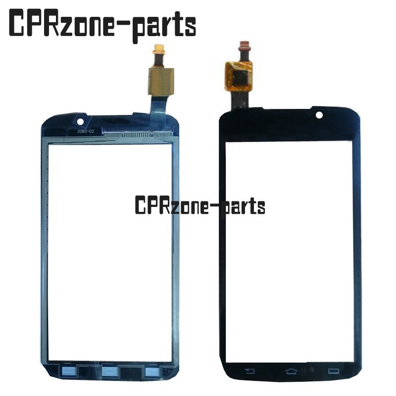 100% warranty black Touch Screen Digitizer Sensor Glass lens For Philips Xenium W832 by free shipping