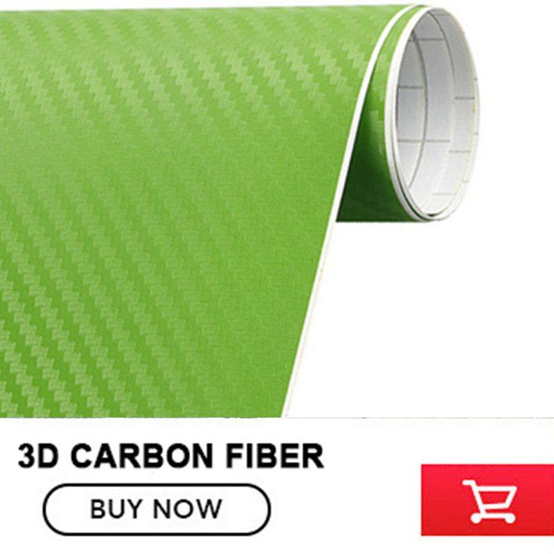 1 roll 1.52MX30M 3D carbon fibre sticker with bubble free Aqua Green3D Vinyl Film ,3D car sticker FREE SHIPPING