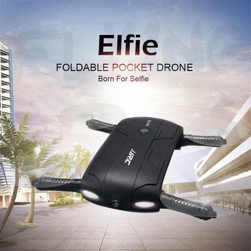 JJR/C JJRC H37 Elfie Mini Selfie Drone Upgraded 2MP WIFI FPV Camera Foldable Arm APP Control RC Quadcopter RTF VS Eachine e52