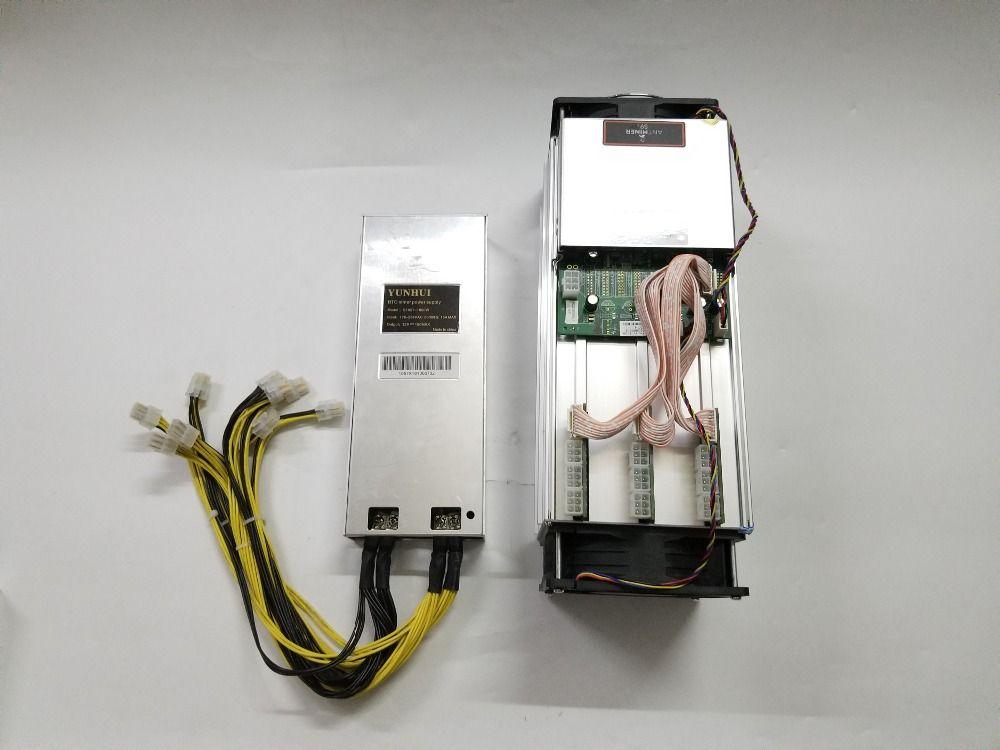 Used Asic BTC BCH Miner AntMiner S9 14T With Power Supply Bitcoin Miner Better Than S9 13.5T T9+ Ebit E9 WhatsMiner M3 M10 V9 S5