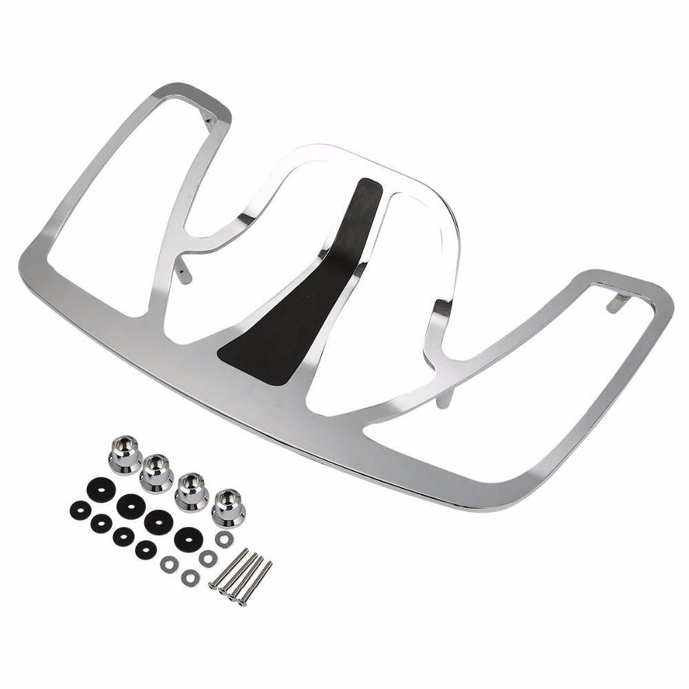 Porte-bagages chromé en aluminium pour Honda Goldwing GL1800 GL 1800 2001-2017 accessoires de moto