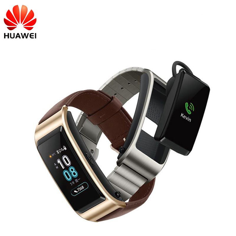 Huawei TalkBand B5 Talk Band B5 Bluetooth Smart Bracelet Fitness Wearable Sports Compatible Smart Mobile Phone Device Wristbands