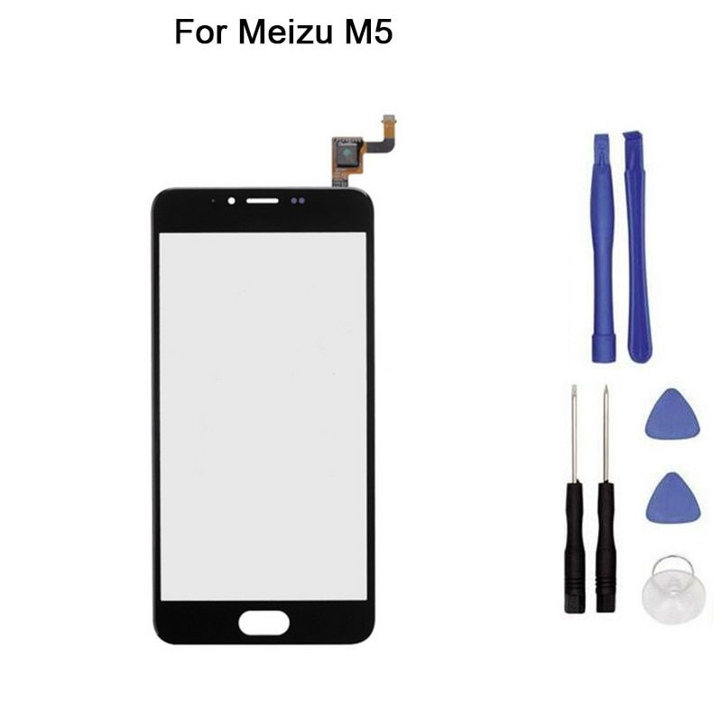 New Touch screen For Meizu M5 M611A M611Y M611D meilan touch Screen Digitizer Front Glass Touch Panel Replacement + tool