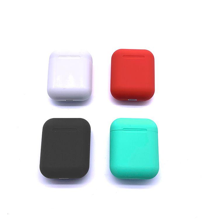 Wireless i12 TWS i12 Bluetooth headset with charging box