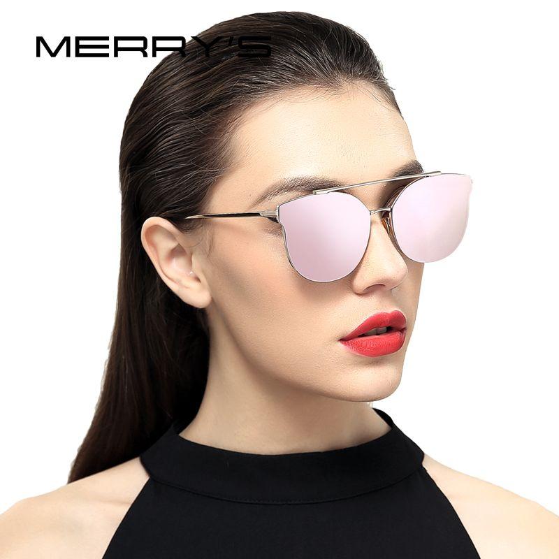 MERRY'S <font><b>Women</b></font> Cat Eye Sunglasses Classic Brand Designer Sunglasses S'8089