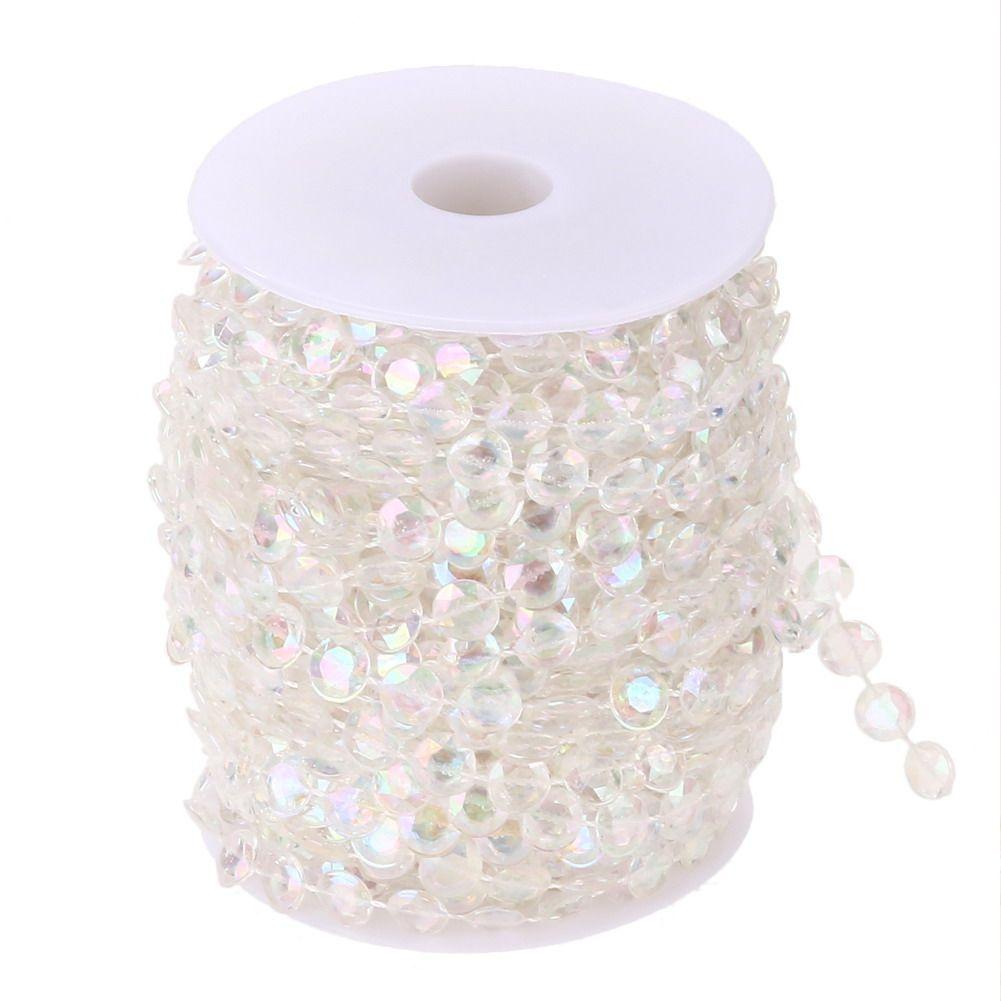 99FT guirlande diamant acrylique cristal rideau acrylique cristal perle rideau mariage bricolage fête décor cristal rideau mariage