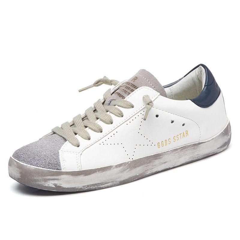 New Brand 2017 Italy Golden Genuine Leather Men Trainers Skateboarding Goose Sport Superstar Breathe Shoes Footwear Zapatillas