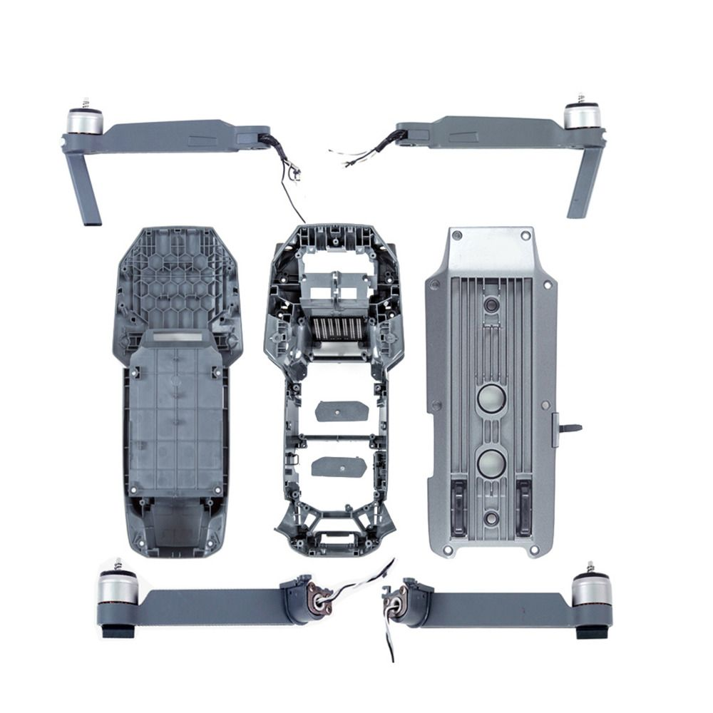For DJI Mavic Pro Parts Drone Accessiories Repair Parts Right Left Front Rear Motor Arm Upper Bottom Shell Middle Frame Part