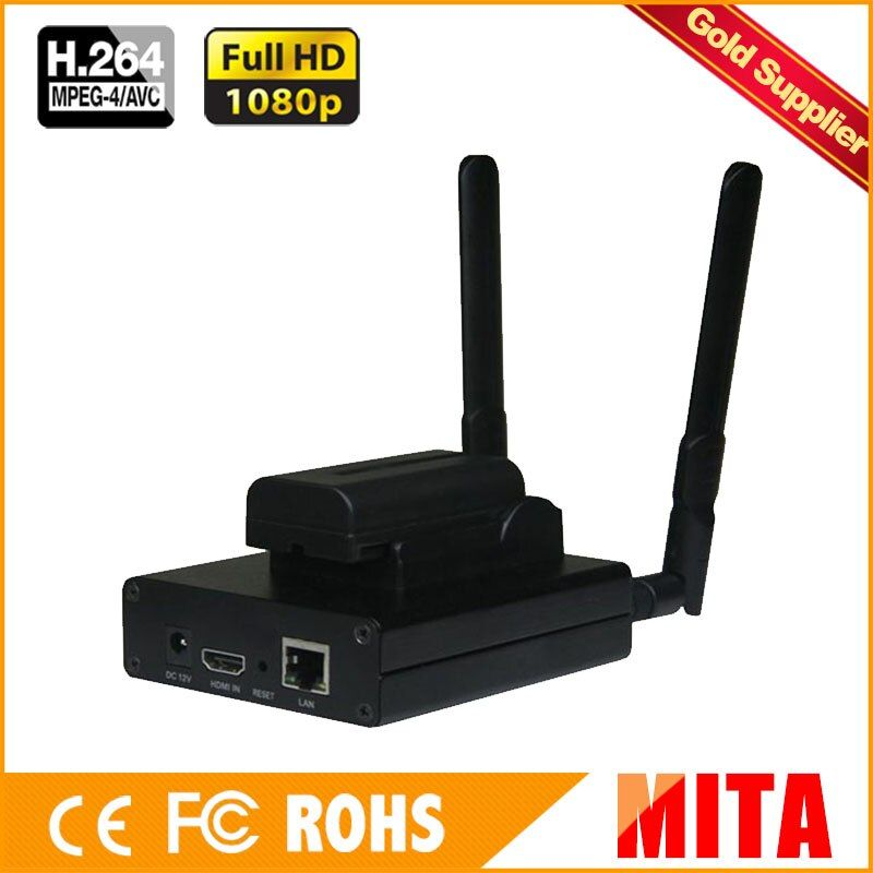 Best H.264 / H264 HDMI To IP Encoder IPTV Live Streaming Encoder Wireless Video Transmitter Wifi Streamer RTMP RTSP HLS Support