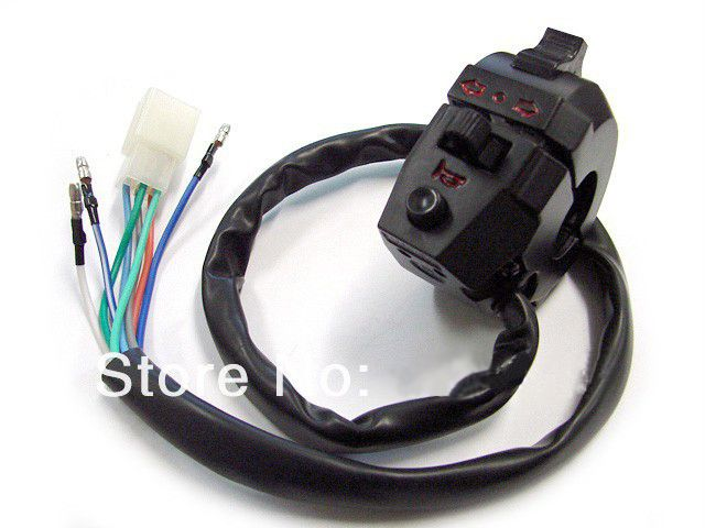 Dual Sport Left Switch Light Turn Signal Horn for Suzuki DR 250 350 DRZ 400 650 Free shipping
